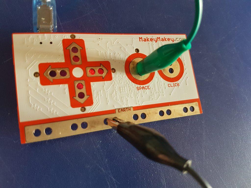 Makey Makey - Circuito con cables